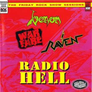 Radio Hell - The Friday Rock Show Sessions (Raven / Venom / Warfare) (1992) CD 8