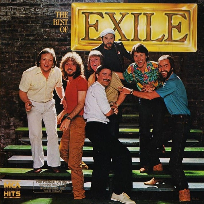 Exile - The Best Of Exile (1985) CD 7