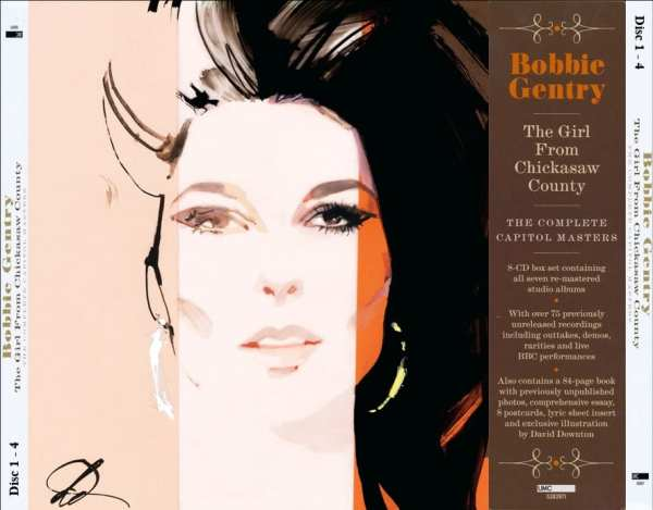 Bobbie Gentry ‎- The Girl From Chickasaw County (The Complete Capitol Masters) (2018) 8 CD SET 1