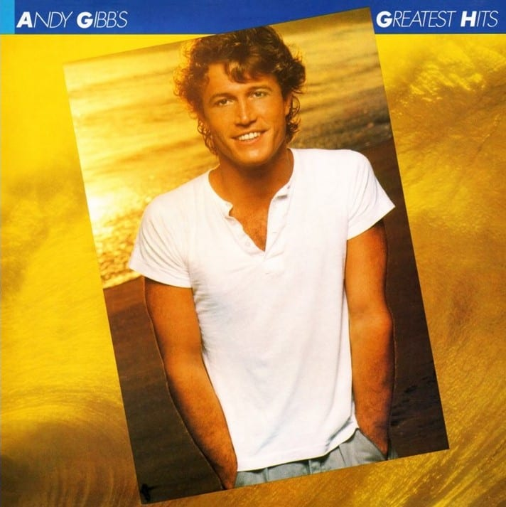 Andy Gibb ‎- Andy Gibb's Greatest Hits (1980) CD 9