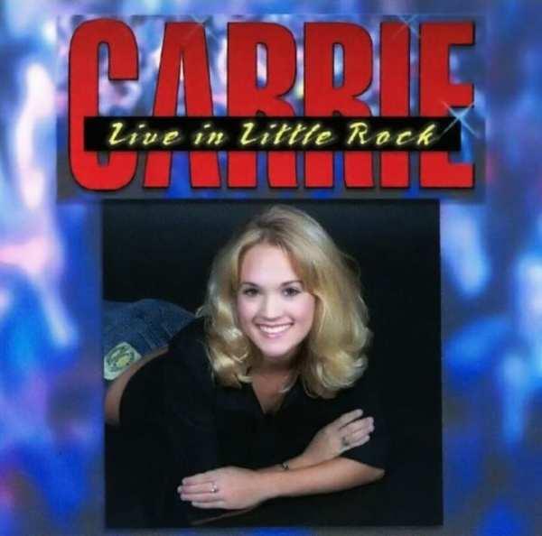 Carrie Underwood - Live In Little Rock (2002) CD 1
