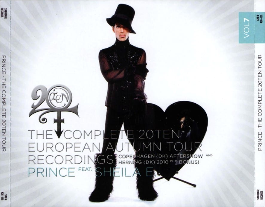 Prince - The Complete 20Ten European Autumn Tour Recordings Vol. 6 (#SAB 422-425) (2011) 4 CD SET 8