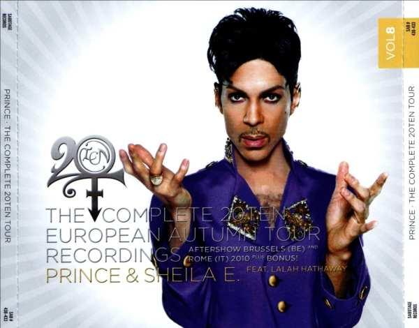Prince - The Complete 20Ten European Autumn Tour Recordings Vol. 8 (#SAB 430-433) (2011) 4 CD SET 1
