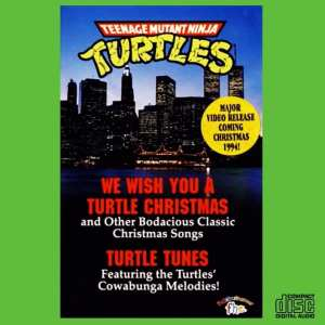 Teenage Mutant Ninja Turtles - We Wish You A Turtles Christmas / Turtle Tunes (COMPLETE SOUNDTRACKS) (EXPANDED EDITION) (1994) CD 23