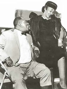 With Louis Armstrong