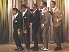 L-R: Melvin Franklin, David Ruffin, Otis Williams, Paul Williams, Eddie Kendricks