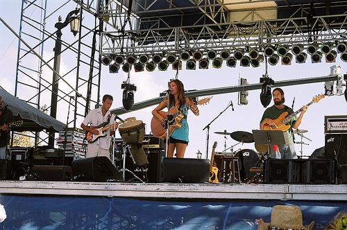Ben, Shauna and Chris Bonelli (bass)