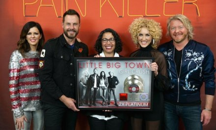 Little Big Town surprised with double-platinum plaque for 'Girl Crush' by RIAA