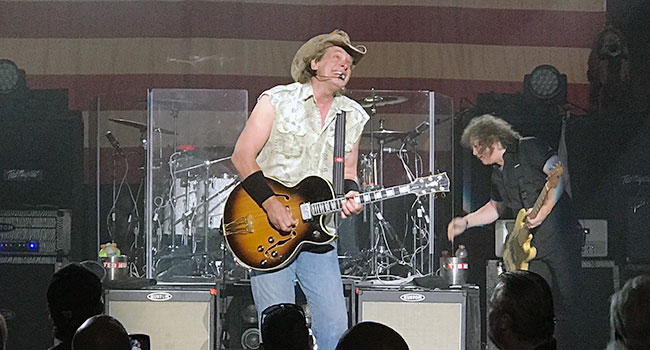 Ted Nugent live in Bakersfield 6/25/17