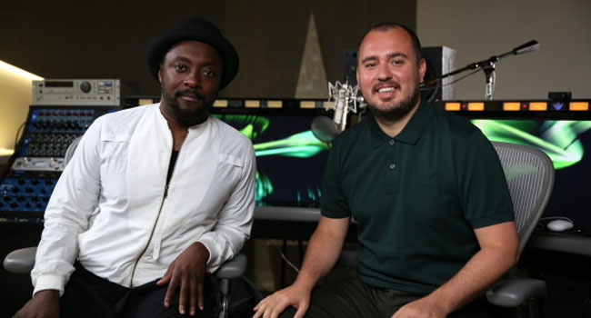will.i.am and and Amuse CEO Diego Farias