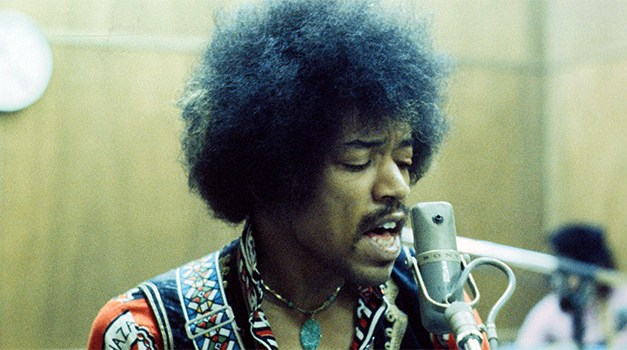 Jimi Hendrix Collection from Strax Technlogies includes variety of visual art