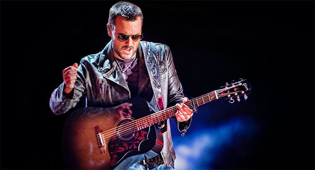 Eric Church most added at country radio with 'Monsters'