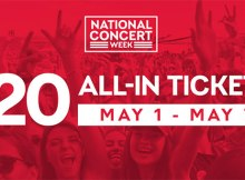 Live Nation Celebrates National Concert Week By Making Over 2 Million Tickets Available To the Hottest Summer Shows for Only $20