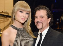 Taylor Swift & Scott Borchetta