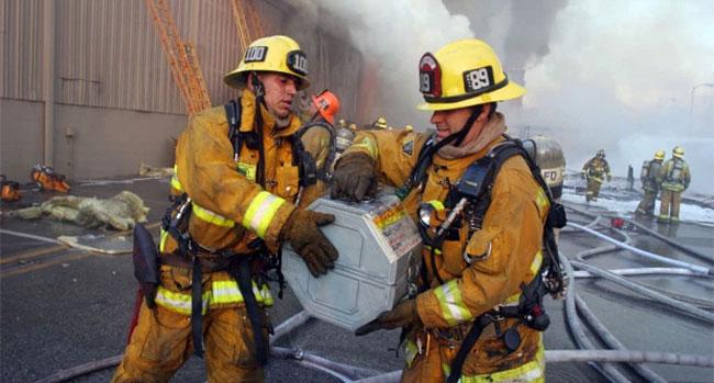 Universal Studios Hollywood Fire
