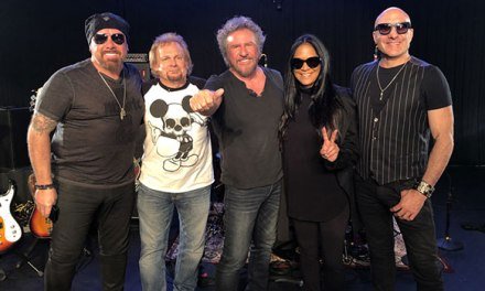 Iconic drummers play 'Wipeout' with Sammy Hagar