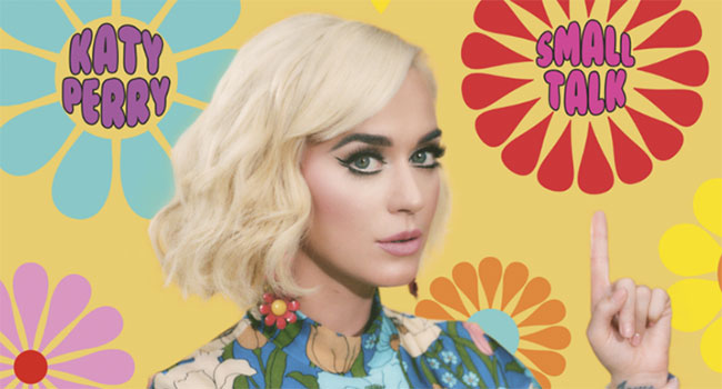 Katy Perry unveils 'Small Talk'