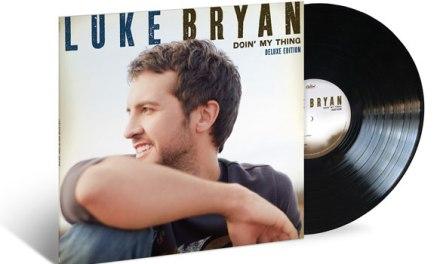 Luke Bryan releasing deluxe edition of debut on vinyl