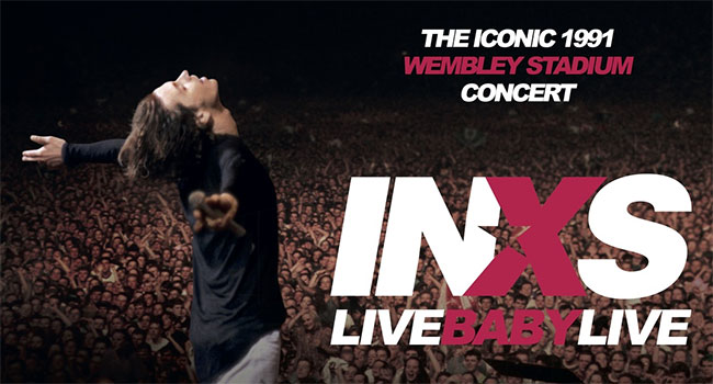 INXS 'Live Baby Live' restored for 4K Ultra HD
