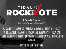 TIDAL X Rock The Vote