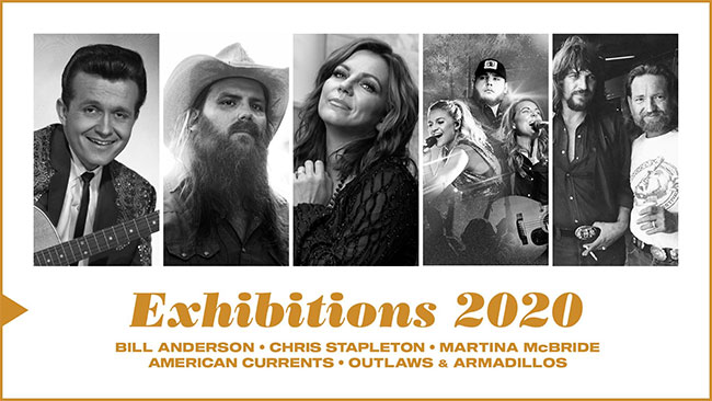 Country Music Hall of Fame announces 2020 exhibitions