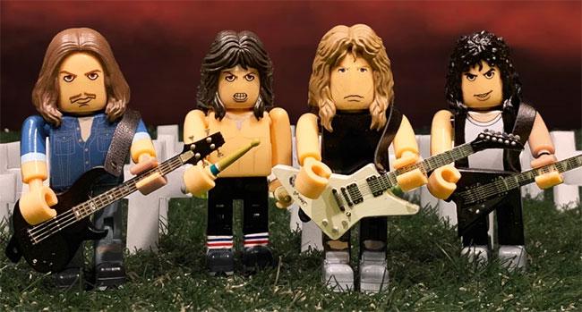 Metallica Block Figures
