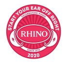 Rhino Start Your Ear Off Right 2020