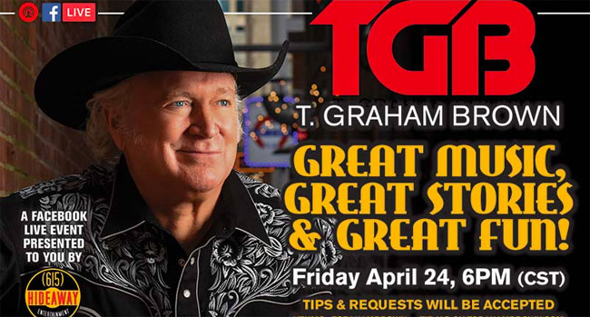 T Graham Brown - Great Music, Great Stories & Great Fun
