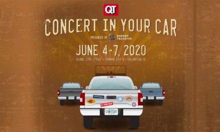 Texas Rangers announce QuikTrip Concert in Your Car