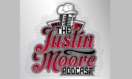 Justin Moore debuts podcast; announces live record