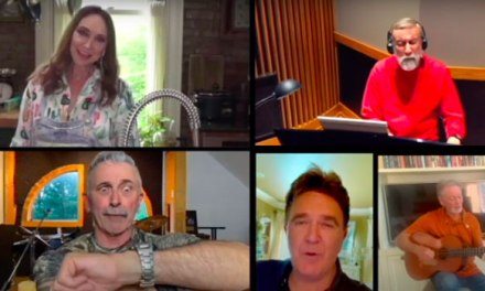 Country stars create socially distance Willie Nelson cover