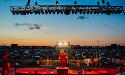 Brad Paisley sells out live drive-in shows