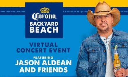 Jason Aldean, Corona team for virtual concert