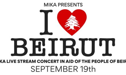 Mika announces I Love Beirut benefit concert