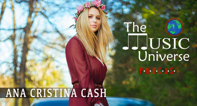 Ana Cristina Cash on The Music Universe Podcast