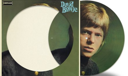 Self-titled David Bowie debut getting picture disc