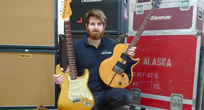 Bob Dylan, Rory Gallagher-owned guitars heading to auction