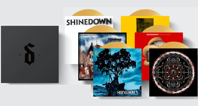 Shinedown Limited Edition Colored Vinyl Box Set