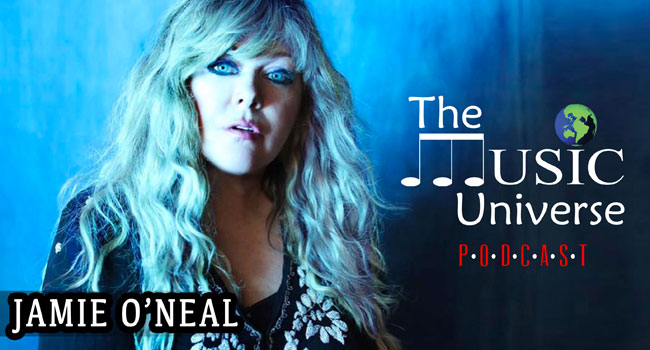 Jamie O'Neal on The Music Universe Podcast
