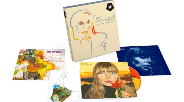 Joni Mitchell Reprise albums compiled into box set