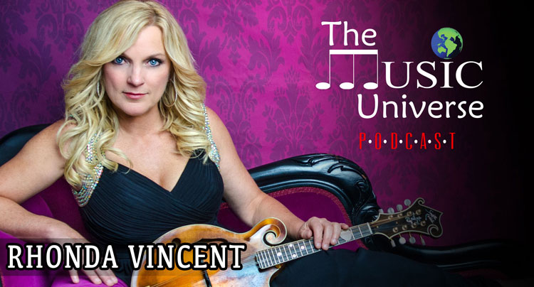 Rhonda Vincent on The Music Universe Podcast