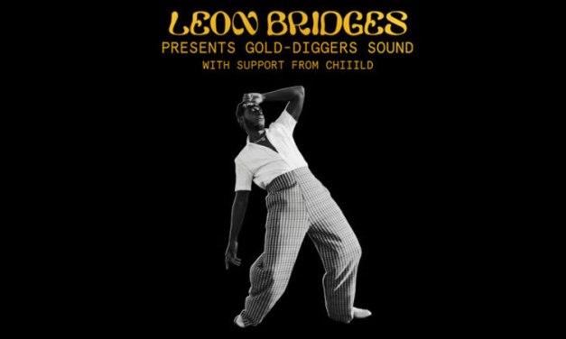 Leon Bridges announces Gold-Diggers Sound 2022 tour dates