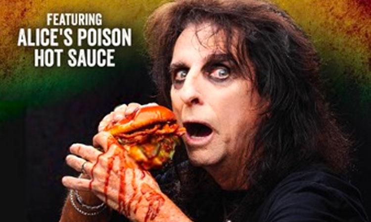 Alice Cooper Poison Burger