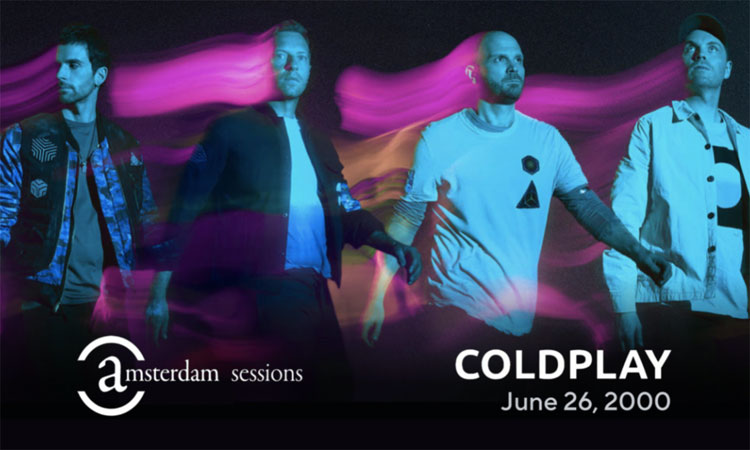 Coldplay - Amsterdam Sessions
