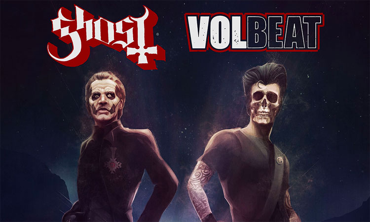 Ghost & Volbeat 2022 Tour