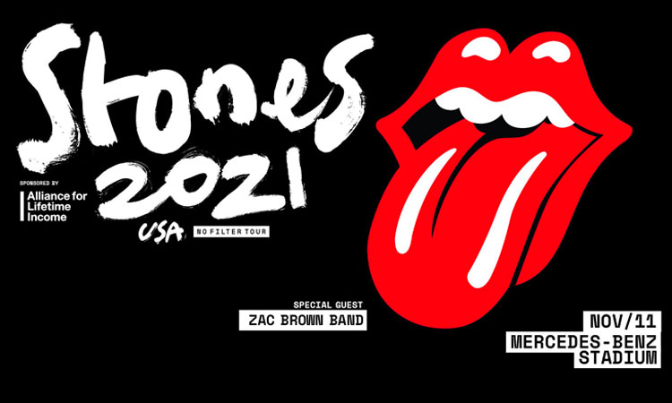Rolling Stones with Zac Brown Band at Mercedes Benz Stadium