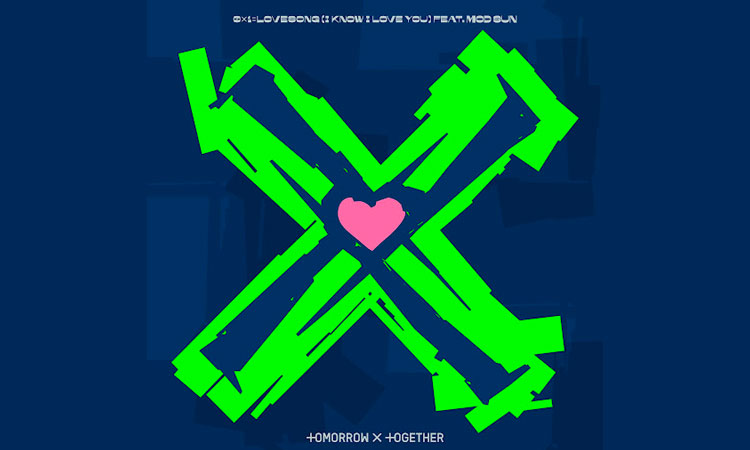 TOMORROW X TOGETHER - 0X1=LOVESONG (I Know I Love You) featuring Mod Sun