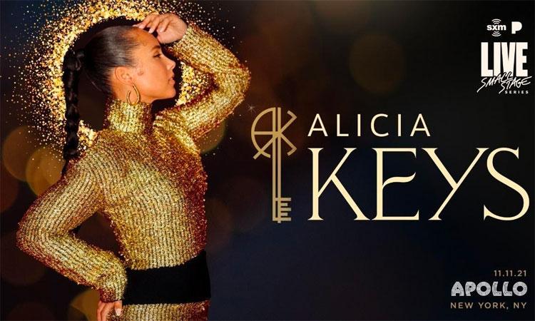 Alicia Keys at the Apollo