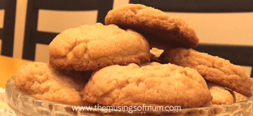 Super Quick Peanut Butter Cookies