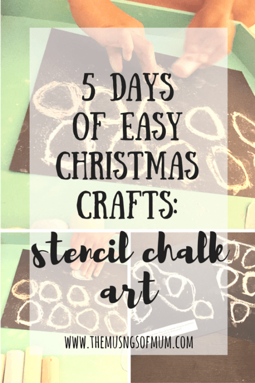 Christmas Crafts - The Musings of Mum